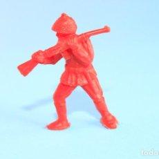 Figuras de Goma y PVC: FIGURA CHICLE DUNKIN SOLDADOS DEL MUNDO, SOLDADO JAPONÉS COLOR ROJO.. Lote 89833256