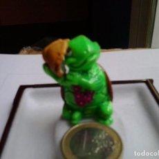 Figuras de Goma y PVC: FIGURA PVC FERRERO: TORTUGA CON CARACOLA. ANTIGUO.. Lote 89969804