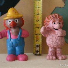 Figuras de Goma y PVC: FIGURAS PVC ESPINETE Y DON PINPON BARRIO SESAMO COMICS SPAIN TVE. Lote 90044308