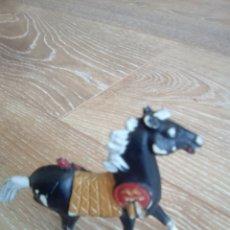 Figuras de Goma y PVC: CABALLO COMANSI NEGRO INDIOS . Lote 90188063