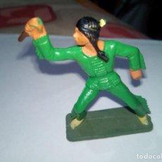 Figuras de Goma y PVC: FIGURA INDIO STARLUX. Lote 90222144