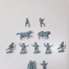 Figuras de Goma y PVC: LOTE DE SOLDADITOS MONTAPLEX . VAQUEROS. Lote 90359448
