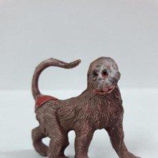 Figuras de Goma y PVC: MONO . REALIZADA POR PECH . SERIE FIERAS . AÑOS 50 EN GOMA. Lote 90411974