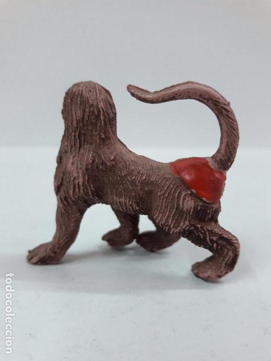 Figuras de Goma y PVC: MONO . REALIZADA POR PECH . SERIE FIERAS . AÑOS 50 EN GOMA - Foto 2 - 90411974