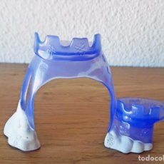 Figuras de Goma y PVC: ACCESORIO PECERA LITTLEST PET SHOP CASTILLO ACUARIO HASBRO LITTLE MUÑECOS PECES. Lote 90578125