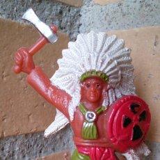 Figuras de Goma y PVC: FIGURA INDIO COMANSI. Lote 90824090