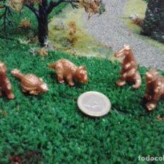 Figuras de Goma y PVC: 5 FIGURAS JURASIC PARCK DE MATUTANO LOS 80. LOTE F-14. Lote 90944095