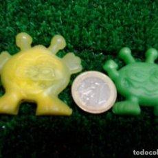 Figuras de Goma y PVC: 2 FIGURAS DE GOMA, IMÁN. DE LOS 80. DESCONOCIDO. LOTE F-18. Lote 90947020