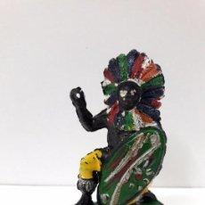 Figuras de Goma y PVC: GUERRERO AFRICANO KAKUANA . REALIZADO POR PECH . AÑOS 50 EN GOMA. Lote 91164295