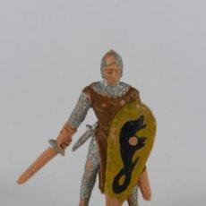Figuras de Goma y PVC: FIGURA REAMSA, SERIE LOS CABALLEROS DEL REY ARTURO. EN PLASTICO AÑOS 60.. Lote 91255330