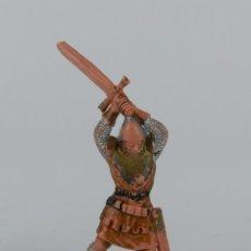 Figuras de Goma y PVC: FIGURA REAMSA, SERIE LOS CABALLEROS DEL REY ARTURO. EN PLASTICO AÑOS 60.. Lote 91255420