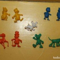 Figuras de Goma y PVC: LOTE DE 9 FIGURAS DUNKIN CAJA MAGICA DISNEY DE DANONE. Lote 91302215