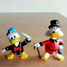 Figuras de Goma y PVC: FIGURA PVC GOMA PATO DONALD Y TIO GILITO - DISNEY. Lote 91335288