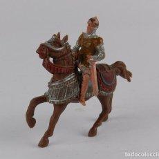 Figurines en Caoutchouc et PVC: FIGURA MEDIEVAL REAMSA, Nº 178. SERIE CABALLEROS DEL REY ARTURO. REALIZADO EN PLASTICO EN LOS AÑO 60. Lote 91339810