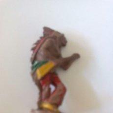 Figuras de Goma y PVC: FIGURA INDIO LAREDO GOMA. Lote 91400990