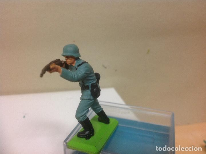 Figuras de Goma y PVC: FIGURA MILITAR BRITAINS - militar aleman made in england de britains - Foto 2 - 91514370