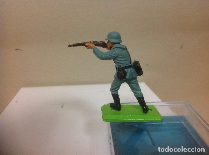 Figuras de Goma y PVC: FIGURA MILITAR BRITAINS - militar aleman made in england de britains - Foto 3 - 91514370