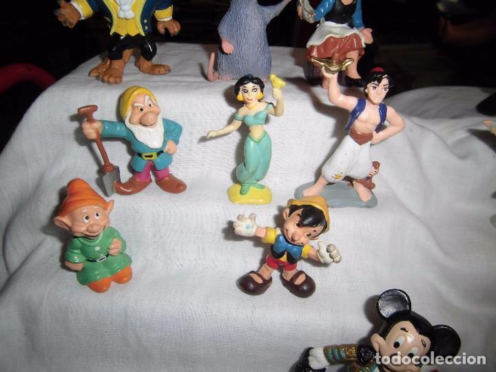 Figuras de Goma y PVC: 18 FIGURAS DISNEY BULLY-BULLYLAND LOS QUE SE VEN EN LAS FOTOGRAFIAS - Foto 6 - 91557730