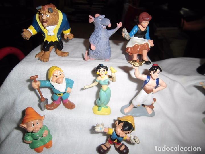 Figuras de Goma y PVC: 18 FIGURAS DISNEY BULLY-BULLYLAND LOS QUE SE VEN EN LAS FOTOGRAFIAS - Foto 7 - 91557730