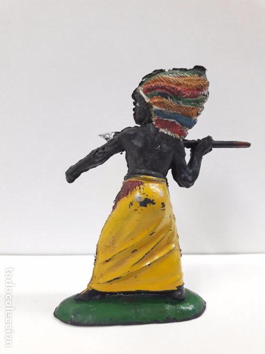 Figuras de Goma y PVC: GUERRERO AFRICANO KAKUANA . REALIZADO POR PECH . AÑOS 50 EN GOMA - Foto 2 - 91567285