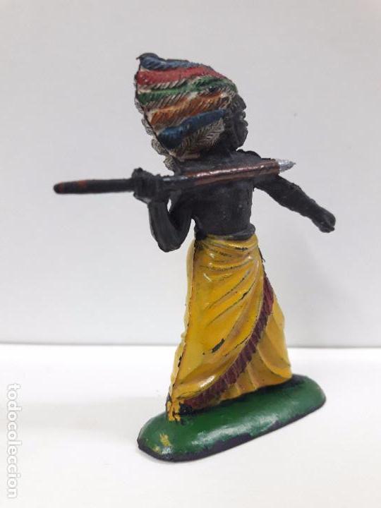 Figuras de Goma y PVC: GUERRERO AFRICANO KAKUANA . REALIZADO POR PECH . AÑOS 50 EN GOMA - Foto 5 - 91567285