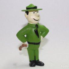 Figuras de Goma y PVC: GUARDABOSQUES OSO YOGUI MARCA MINILAND. Lote 144237490