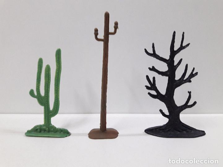 Figuras de Goma y PVC: VAQUEROS Y COMPLEMENTOS REALIZADOS POR JECSAN CON CARRETA WELLS FARGO . AÑOS 60 - Foto 6 - 91680685