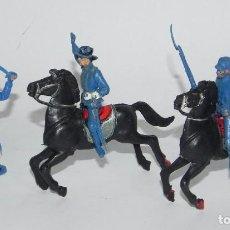 Figuras de Goma y PVC: FIGURA DE PLASTICO, SOLDADO YANKEE, SEPTIMO CABALLERIA, JECSAN, AÑOS 70, APROX.. Lote 91707960