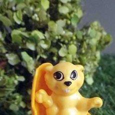 Figuras Kinder: JUGUETE, FIGURA, CASTOR, ANIMALES, KINDER SORPRESA, FIGURAS, JUGUETES. Lote 91836475