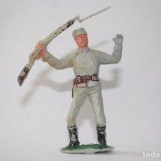Figuras de Goma y PVC: JECSAN FIGURA SOLDADO CONFEDERADO SUDISTA OESTE WESTERN. Lote 91844015