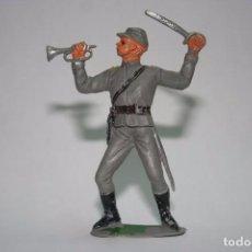 Figuras de Goma y PVC: JECSAN FIGURA SOLDADO CONFEDERADO SUDISTA OESTE WESTERN. Lote 91844375
