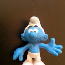 Figuras de Goma y PVC: FIGURA GOMA PVC PITUFO LOS PITUFOS PEYO. Lote 91863450