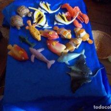 Figuras de Goma y PVC: LOTE DE PECES CASA BULLY ,SON NUEVOS DE TIENDA. Lote 91897435