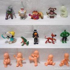 Figuras de Goma y PVC: LOTE 15 FIGURAS GOMA-SCHLEICH-BULLY-CHUPA CHUS-BRB-YOLANDA-COMICS-LJN TOYS -AÑOS 80.. Lote 91952695