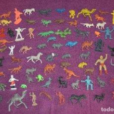 Figuras de Goma y PVC: GRAN LOTE DE FIGURAS DE GOMA / PVC - VARIADAS - REAMSA / JECSAN / PECH / OTRAS - MIRA LAS FOTOS. Lote 92012755