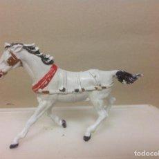 Figuras de Goma y PVC: FIGURA CABALLO COMANSI. - CABALLO DE COMANSI GUIA CARAVANA VAQUERO . Lote 92524635