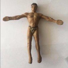 Figuras de Borracha e PVC: ANTIGUA FIGURA DE TARZAN DE GOMA DE ARCLA CON ALAMBRE, COMPLETAMENTE ORIGINAL, EXCEPCIONAL, SERIE SA. Lote 92682330