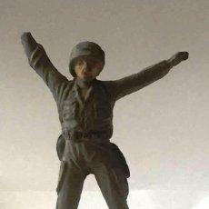 Figuras de Goma y PVC: SOLDADO AMERICANO, DE JECSAN, GOMA, AÑOS 50. Lote 92691430