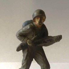 Figuras de Goma y PVC: SOLDADO AMERICANO, DE JECSAN, GOMA, AÑOS 50. Lote 92691545