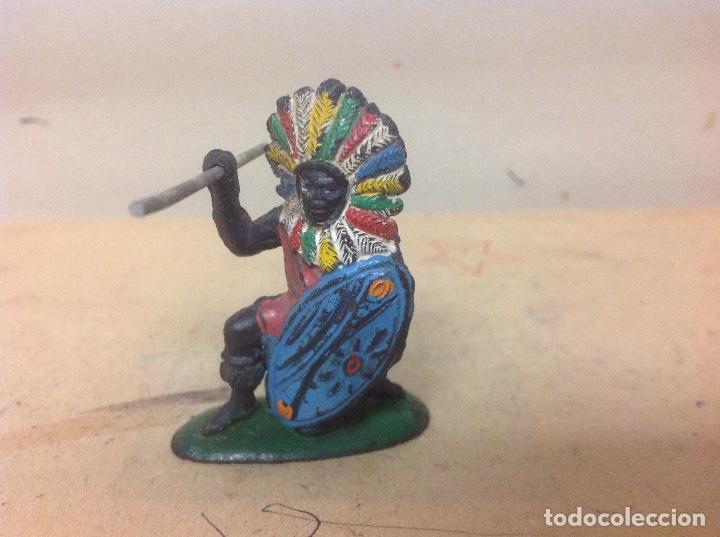 FIGURA AFRICANO PECH HERMANOS - NEGRO HERMANOS PECH GOMA AÑOS 50 (Juguetes - Figuras de Goma y Pvc - Pech)