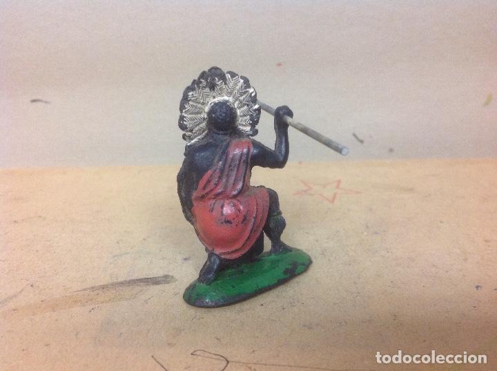 Figuras de Goma y PVC: FIGURA AFRICANO PECH HERMANOS - negro hermanos pech goma años 50 - Foto 3 - 92850895