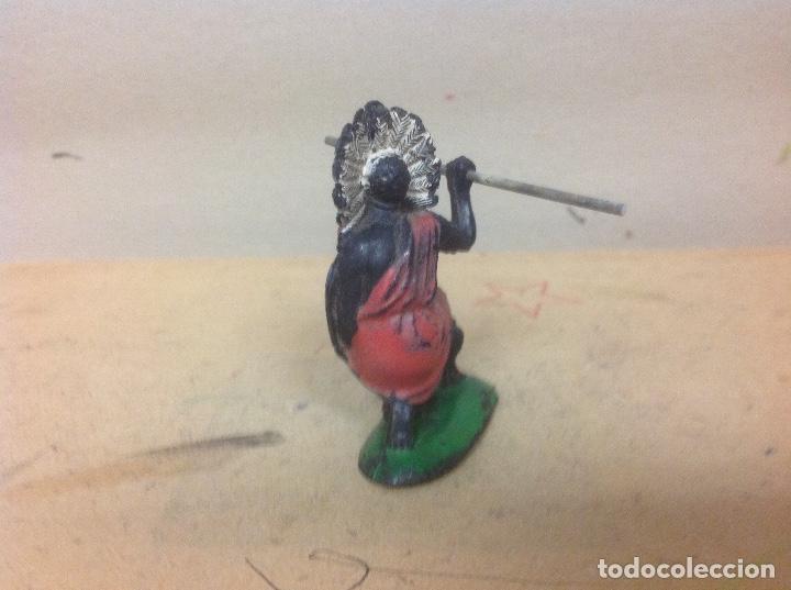Figuras de Goma y PVC: FIGURA AFRICANO PECH HERMANOS - negro hermanos pech goma años 50 - Foto 4 - 92850895