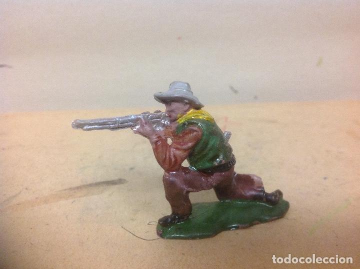 Figuras de Goma y PVC: FIGURA VAQUERO GOMA REAMSA - figura de goma de reamsa añso 50 - Foto 2 - 92954590