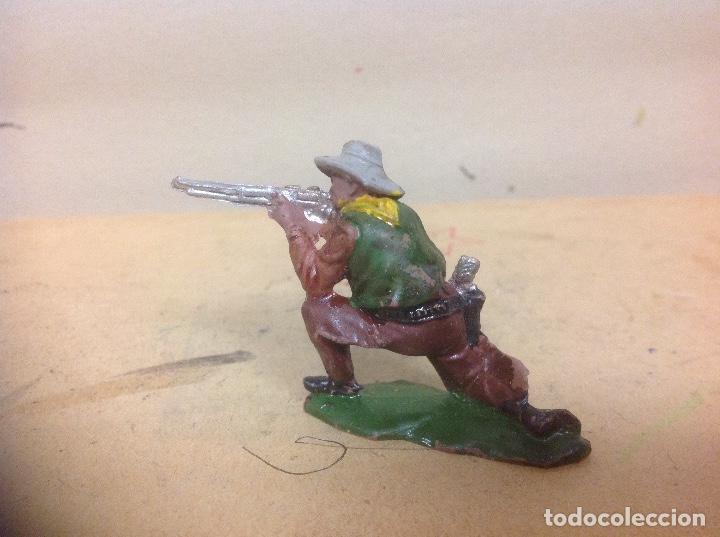 Figuras de Goma y PVC: FIGURA VAQUERO GOMA REAMSA - figura de goma de reamsa añso 50 - Foto 3 - 92954590