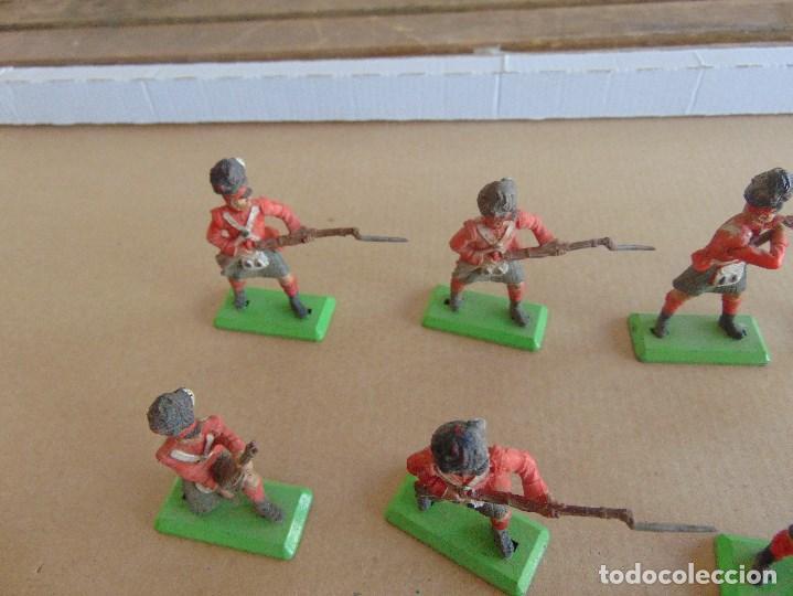 Figuras de Goma y PVC: LOTE DE FIGURAS INDIOS SOLDADOS DE JECSAN REAMSA O MARCAS SIMILARES BRITAINS BASE METALICA - Foto 2 - 92967940