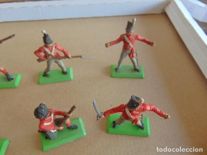 Figuras de Goma y PVC: LOTE DE FIGURAS INDIOS SOLDADOS DE JECSAN REAMSA O MARCAS SIMILARES BRITAINS BASE METALICA - Foto 4 - 92967940