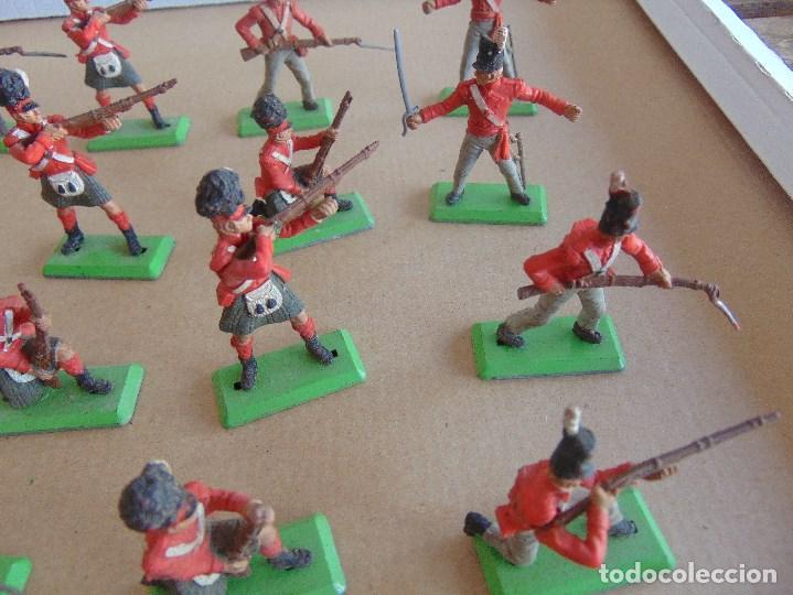 Figuras de Goma y PVC: LOTE DE FIGURAS INDIOS SOLDADOS DE JECSAN REAMSA O MARCAS SIMILARES BRITAINS BASE METALICA - Foto 7 - 92967940