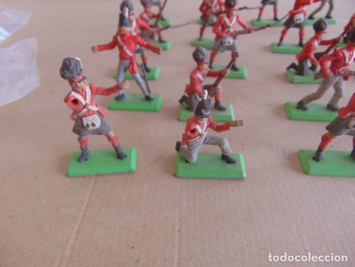 Figuras de Goma y PVC: LOTE DE FIGURAS INDIOS SOLDADOS DE JECSAN REAMSA O MARCAS SIMILARES BRITAINS BASE METALICA - Foto 8 - 92967940
