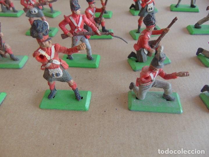 Figuras de Goma y PVC: LOTE DE FIGURAS INDIOS SOLDADOS DE JECSAN REAMSA O MARCAS SIMILARES BRITAINS BASE METALICA - Foto 9 - 92967940