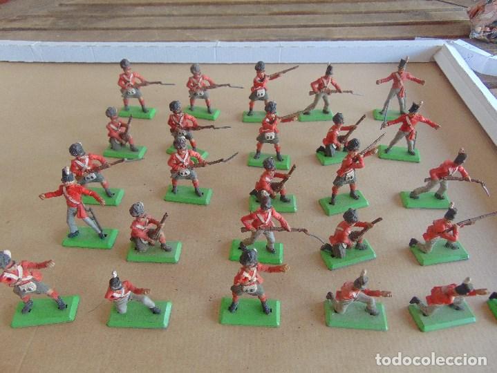 Figuras de Goma y PVC: LOTE DE FIGURAS INDIOS SOLDADOS DE JECSAN REAMSA O MARCAS SIMILARES BRITAINS BASE METALICA - Foto 11 - 92967940